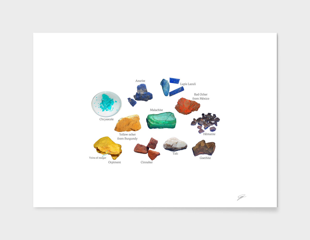 Minerals for Colors