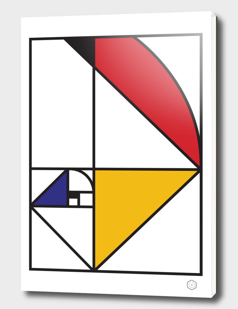 Fibonacci De Stijl