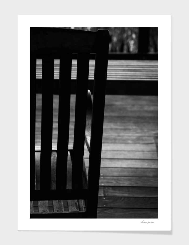 Rocking Chair in Black & White