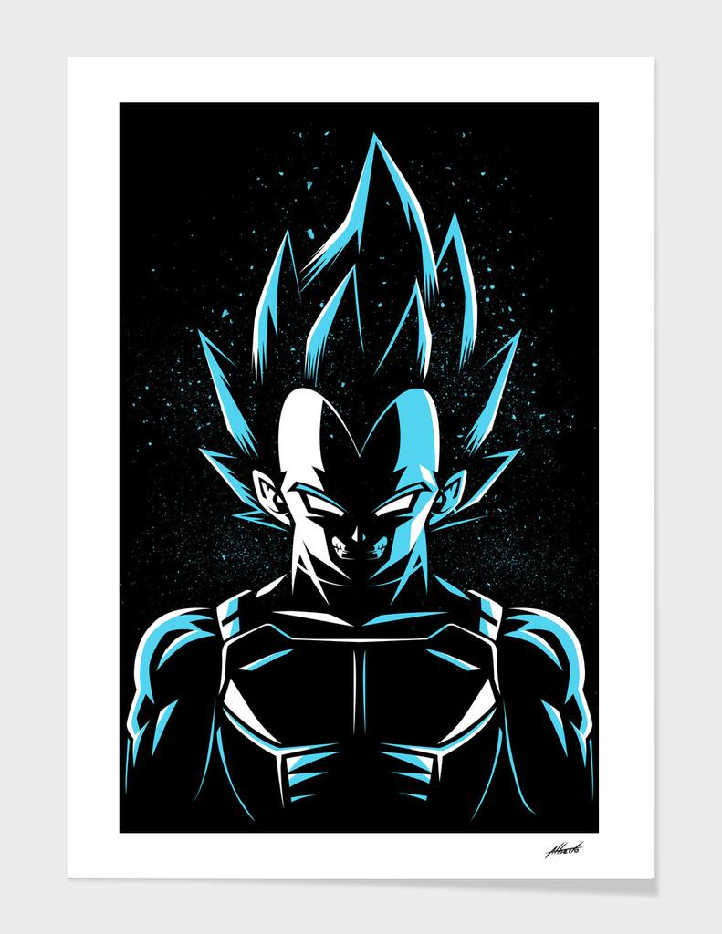 Super prince god blue