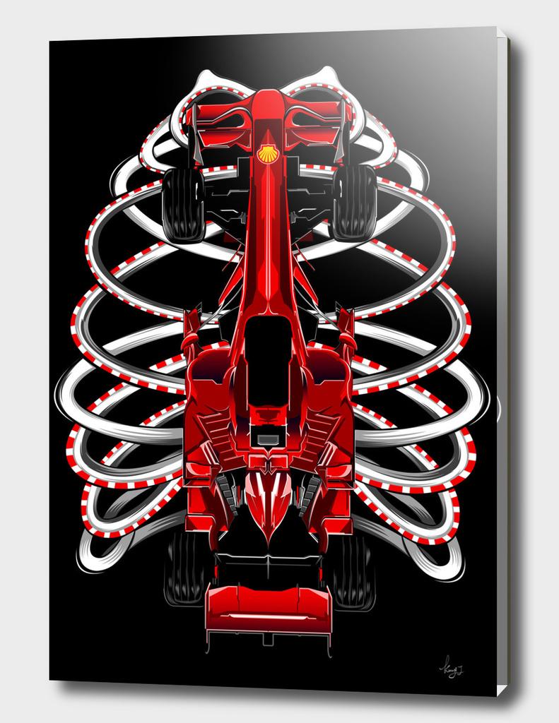 Super car skeleton