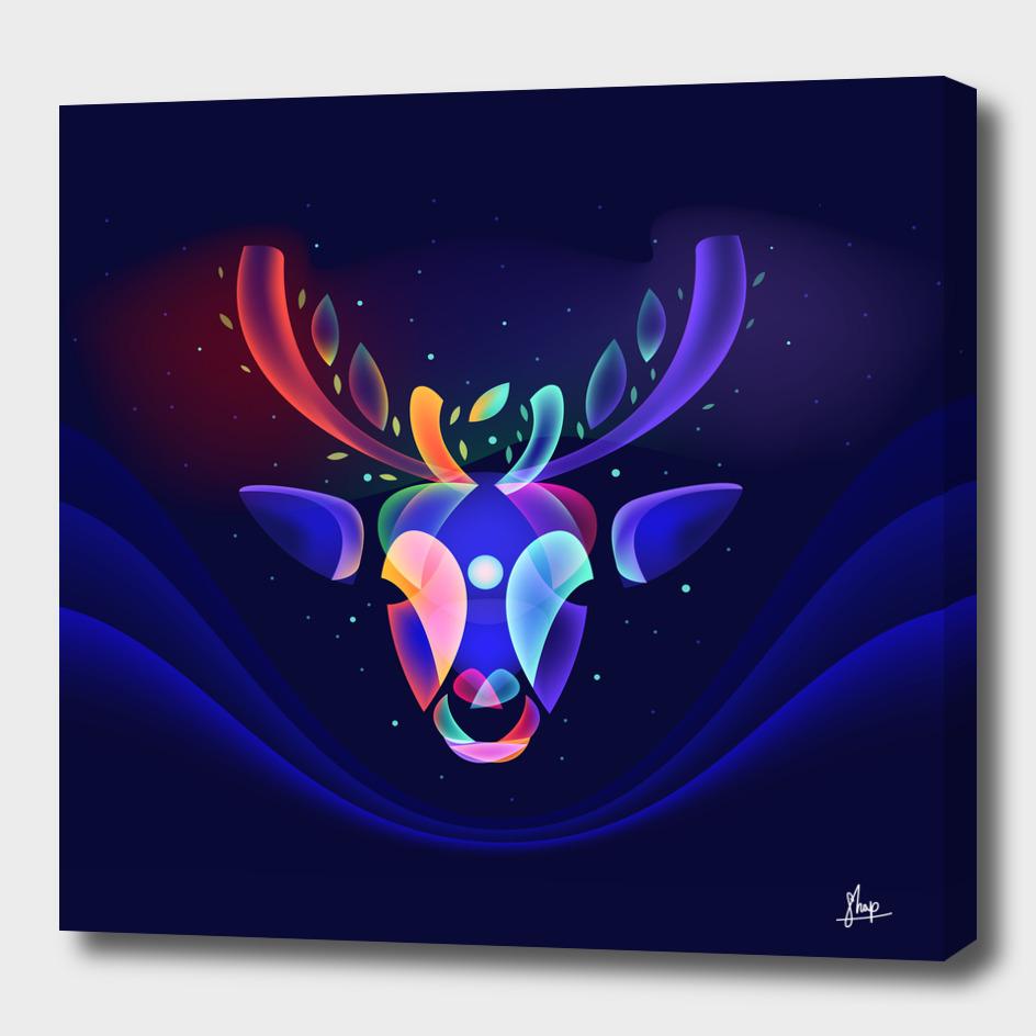 Fantasy Reindeer's Dream