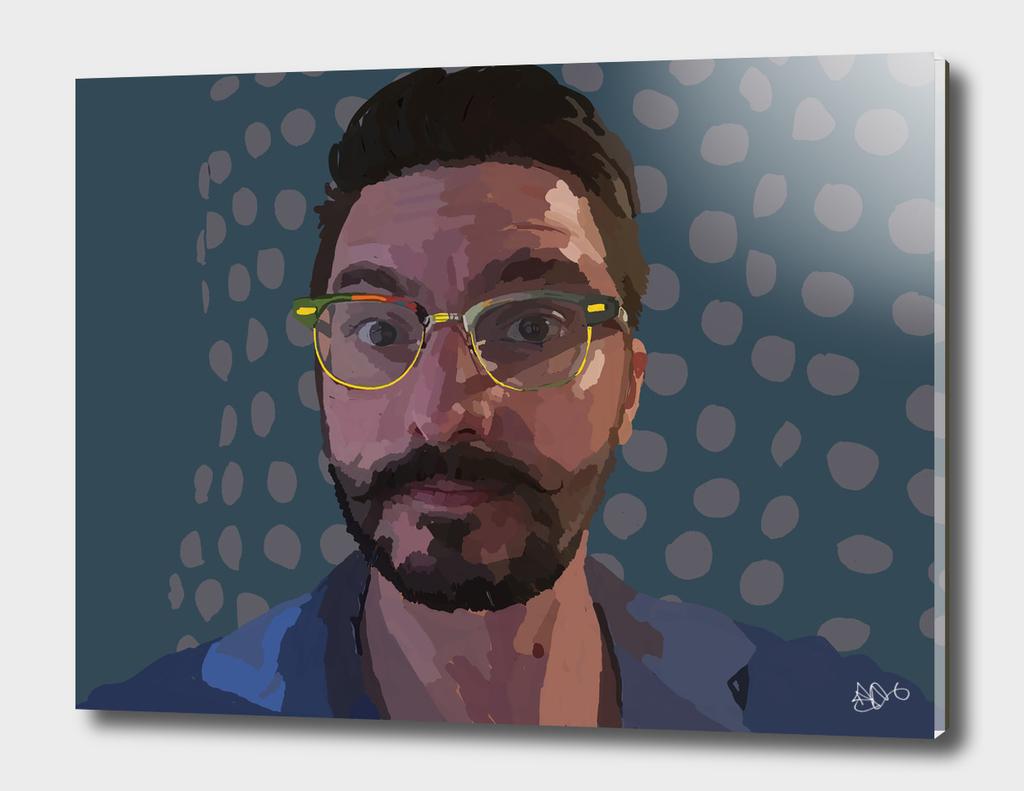 Digital Self Portrait 06