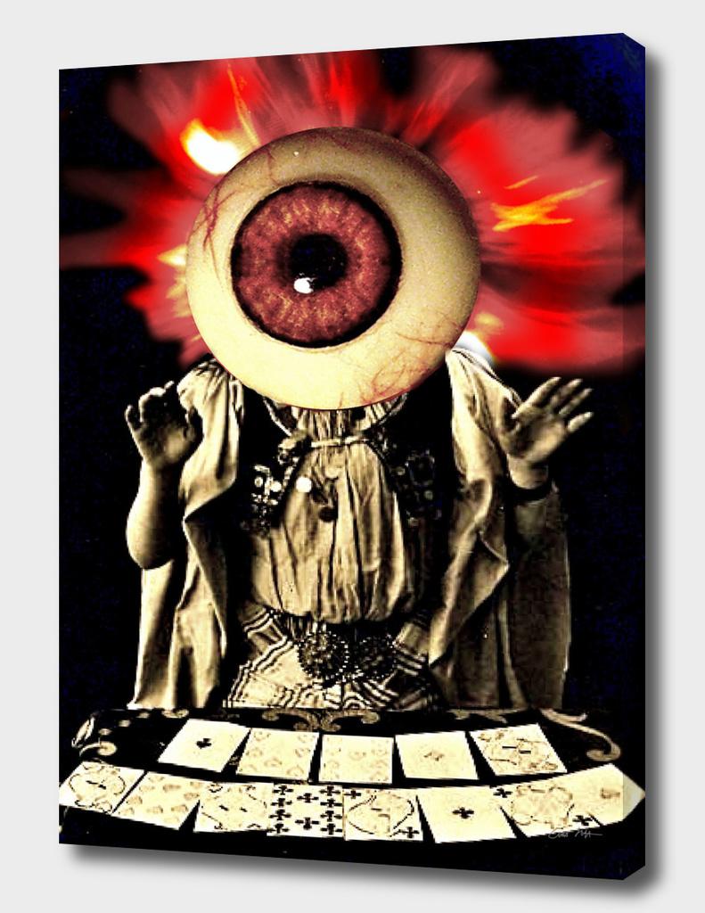 The fortune teller's gaze