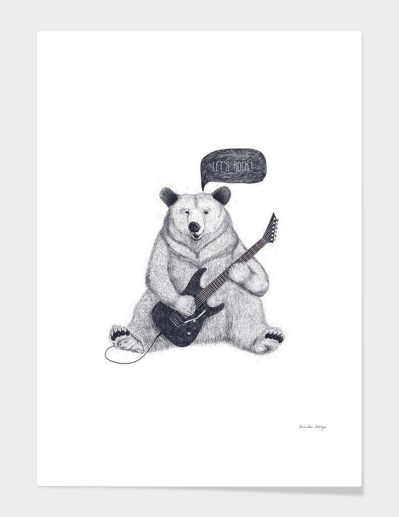 Let's rock bear