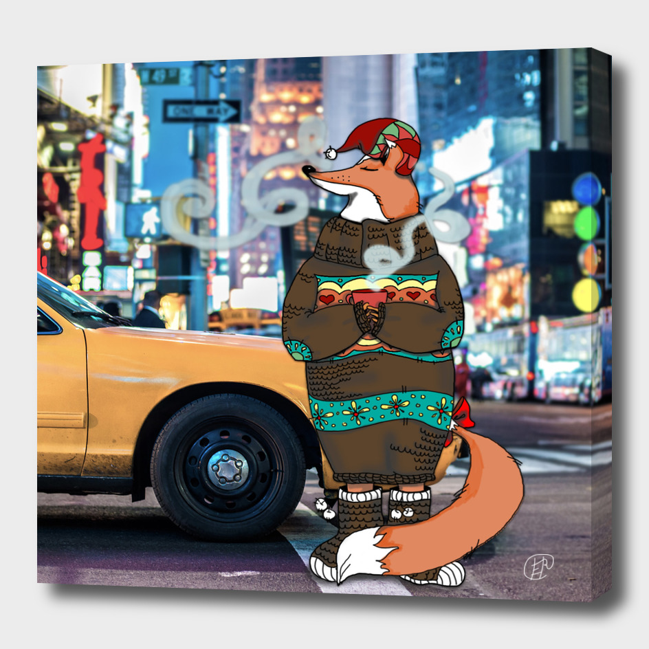 Fox in a big New York