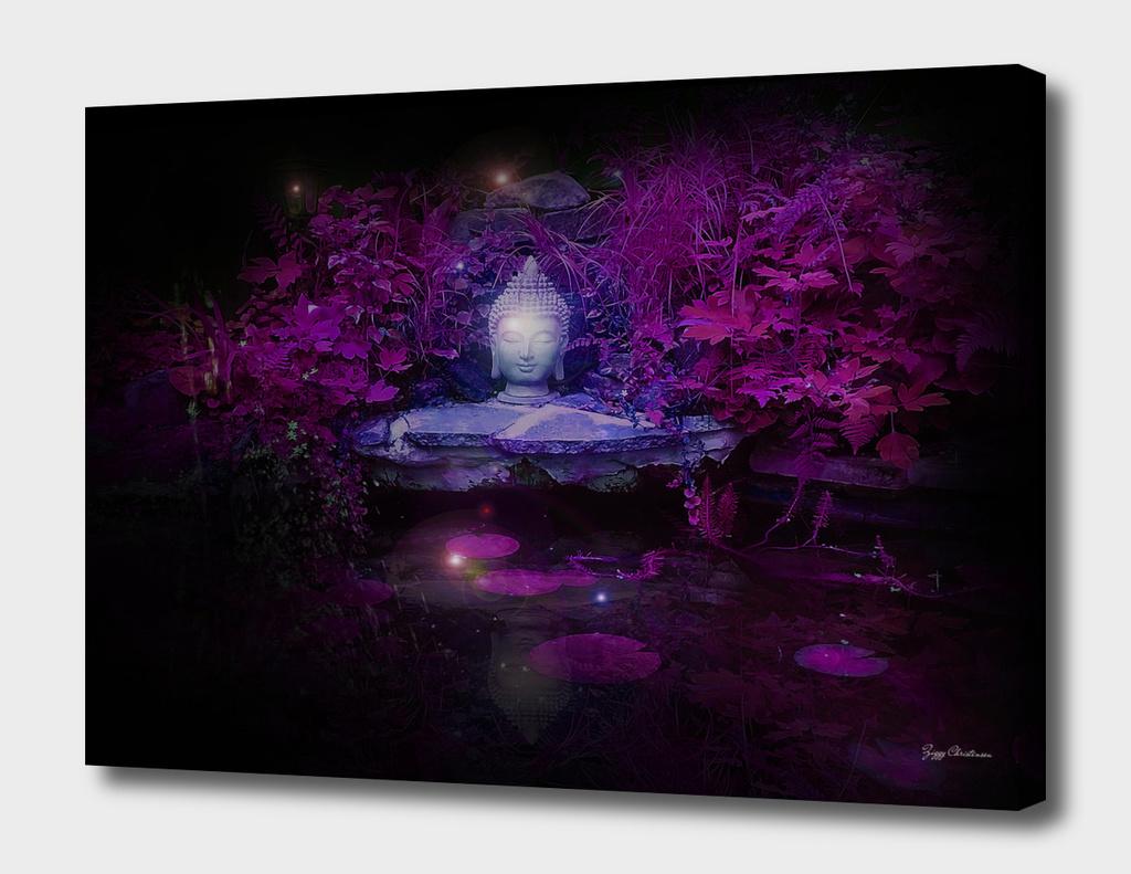 Purple Buddha Pond