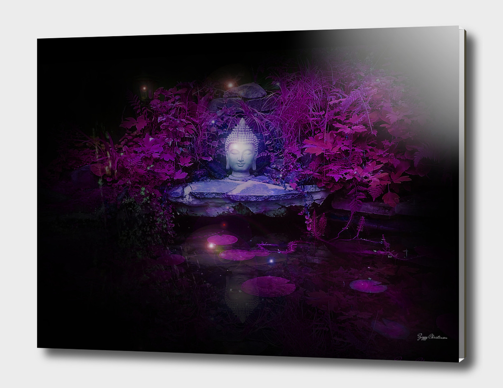 Purple Buddha Pond