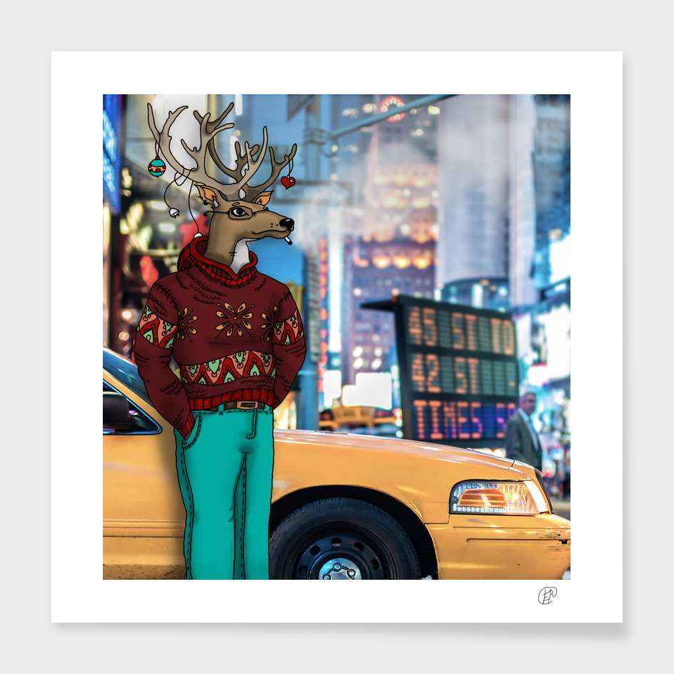 Deer in New York
