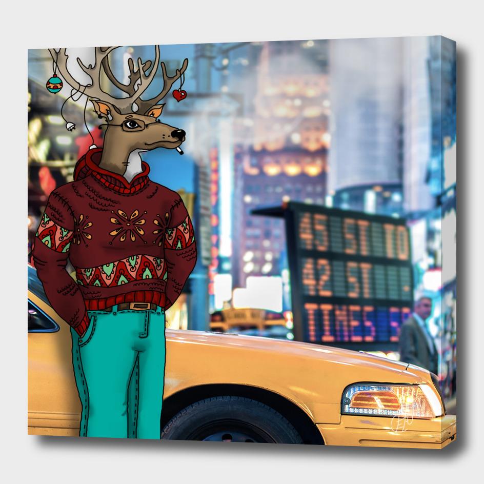 Deer in New York