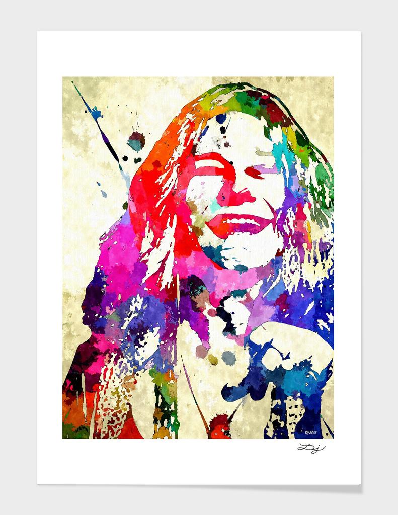 Janis Joplin Grunge