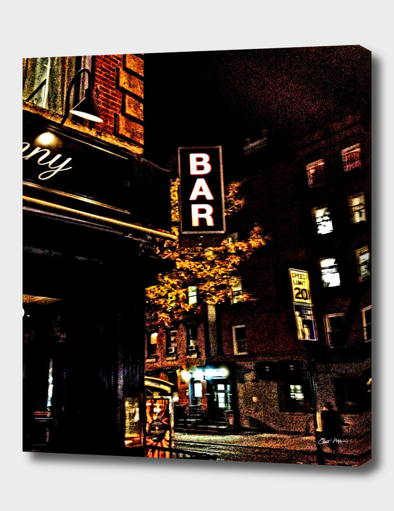 bar sign east village