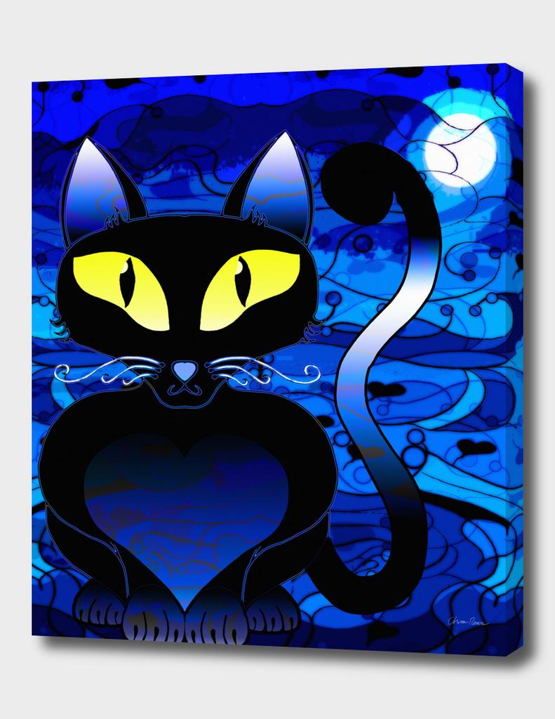 Black Cat Midnight