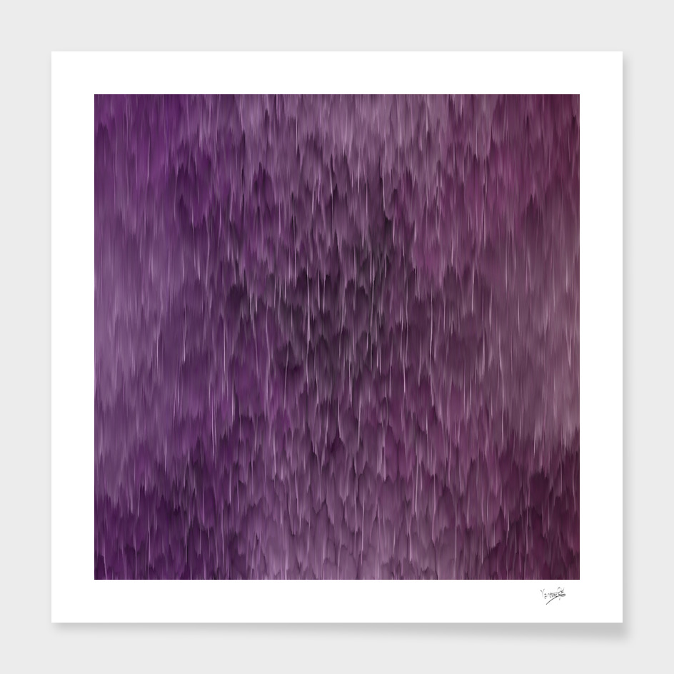 Pink and purple abstract rain