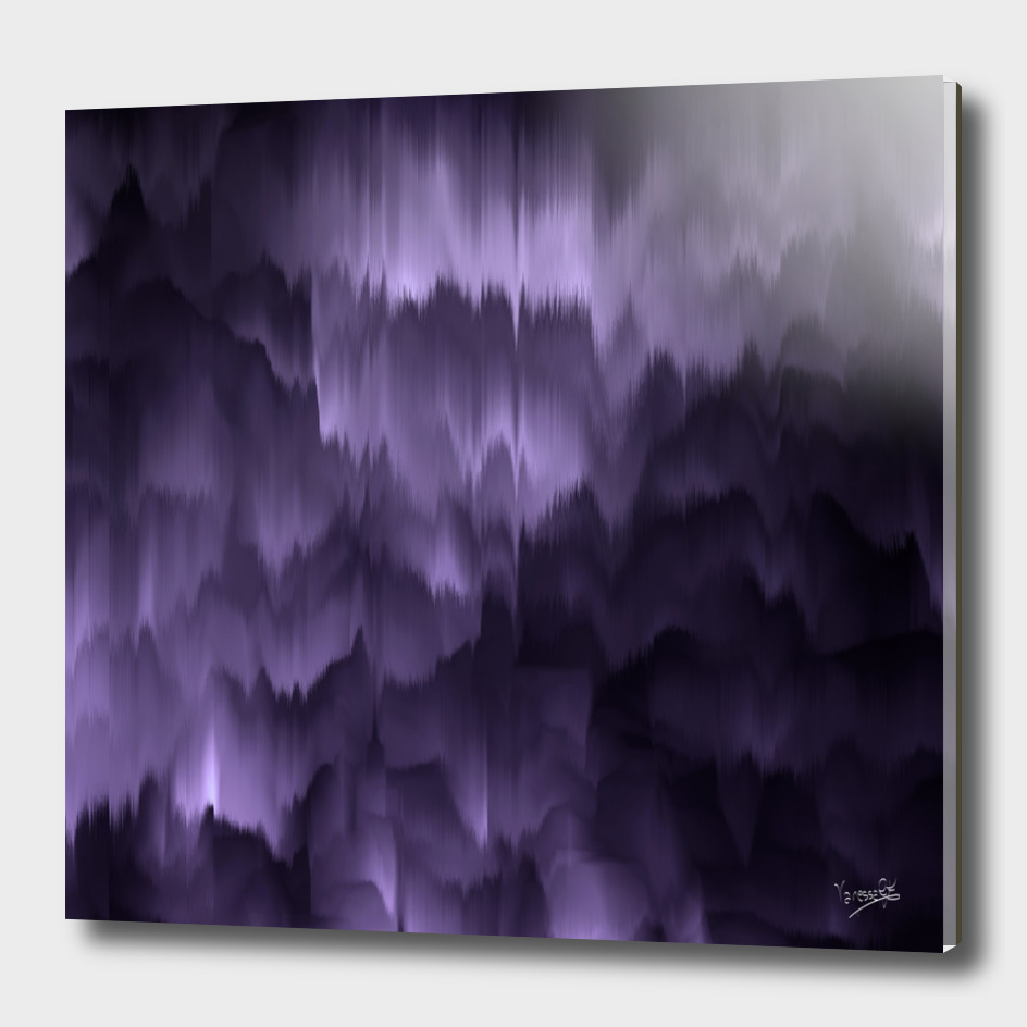 Purple and black. Abstract.
