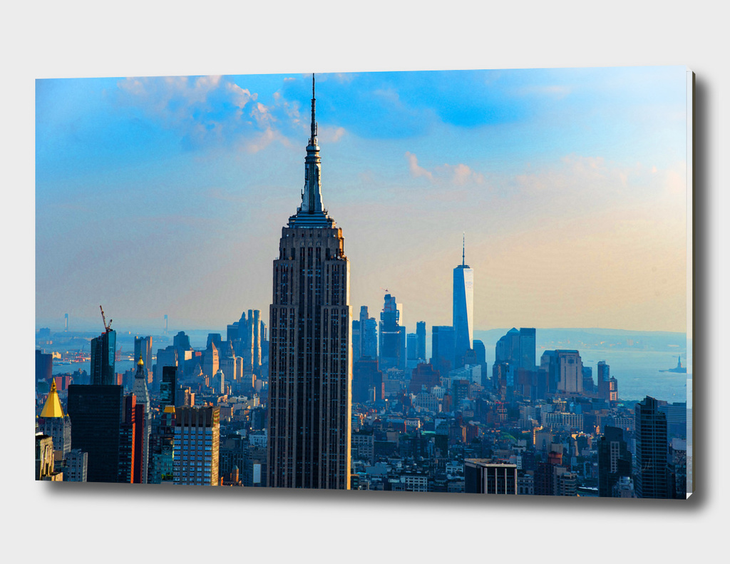 Daytime Over Manhattan