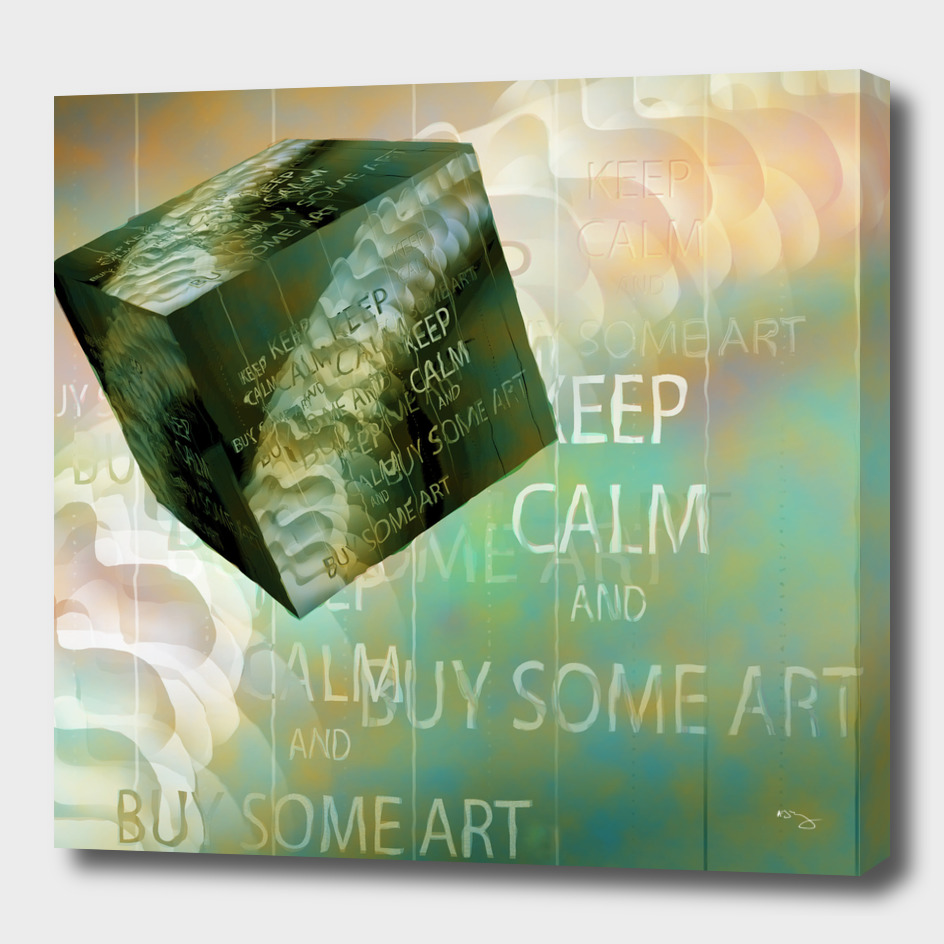 KEEP CALM and BUY SOME ART
