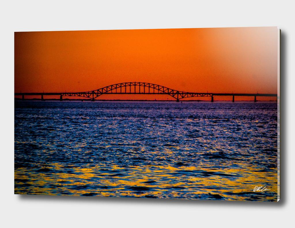Sunset Bridge (Fire Island)