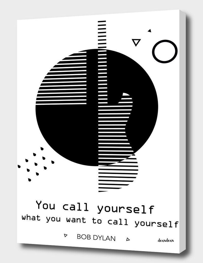 """""""You call yourself what you want to call yourself."""""""