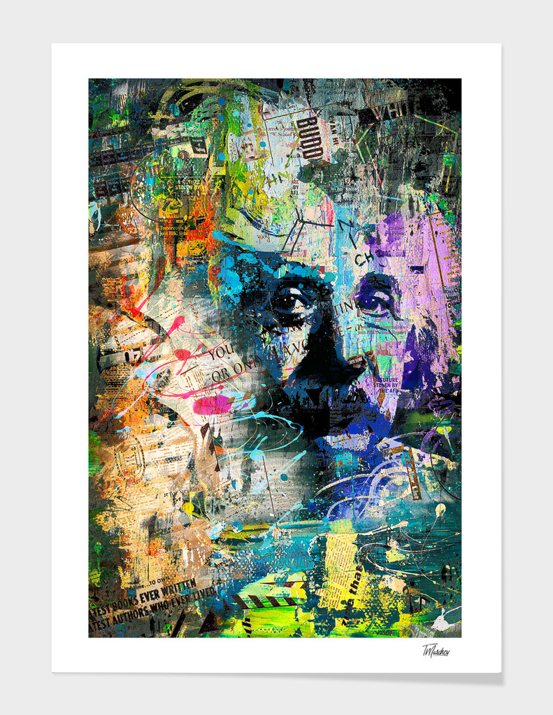 Artistic OI  - Albert Einstein II / NE