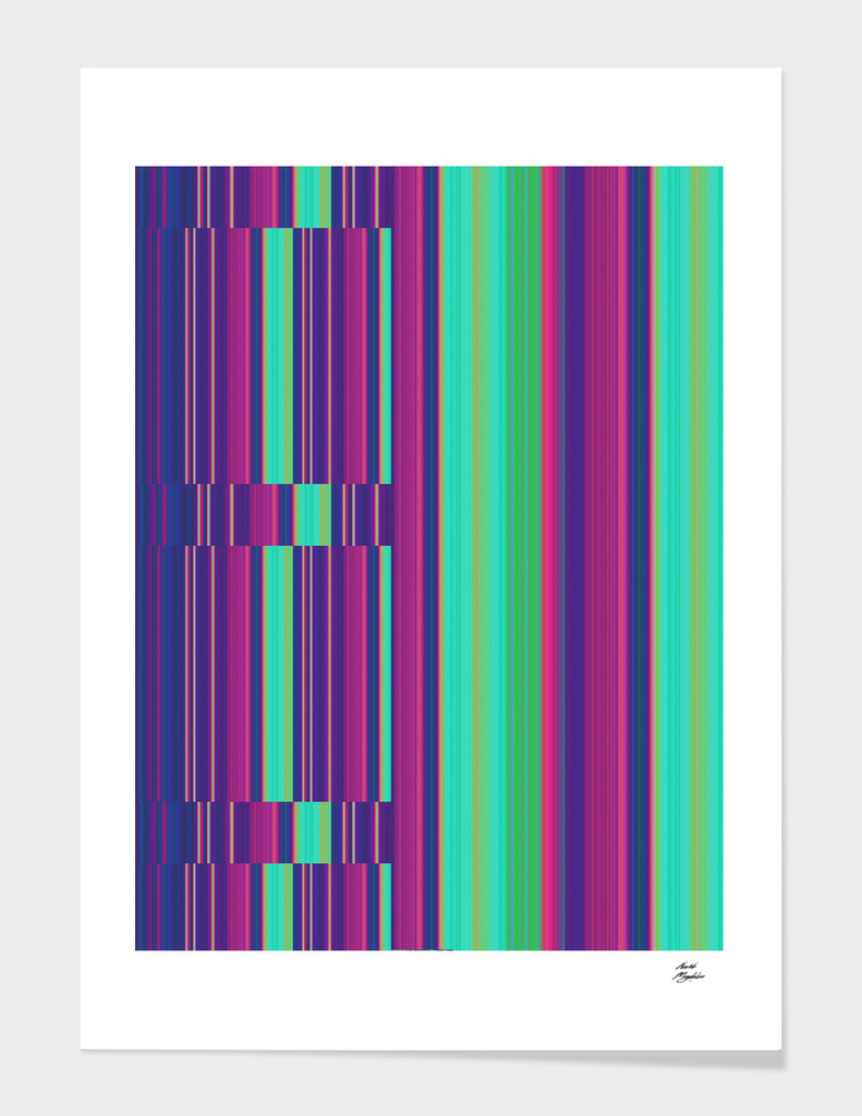 stripes - purple
