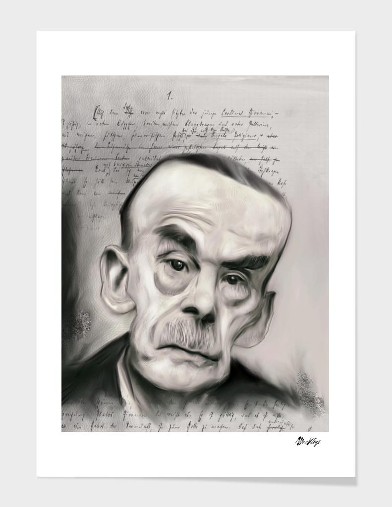 Pen artists: Thomas Mann