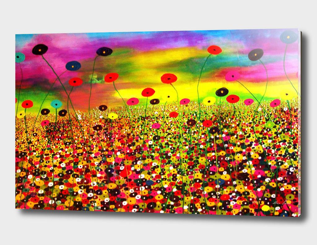 My flowery world