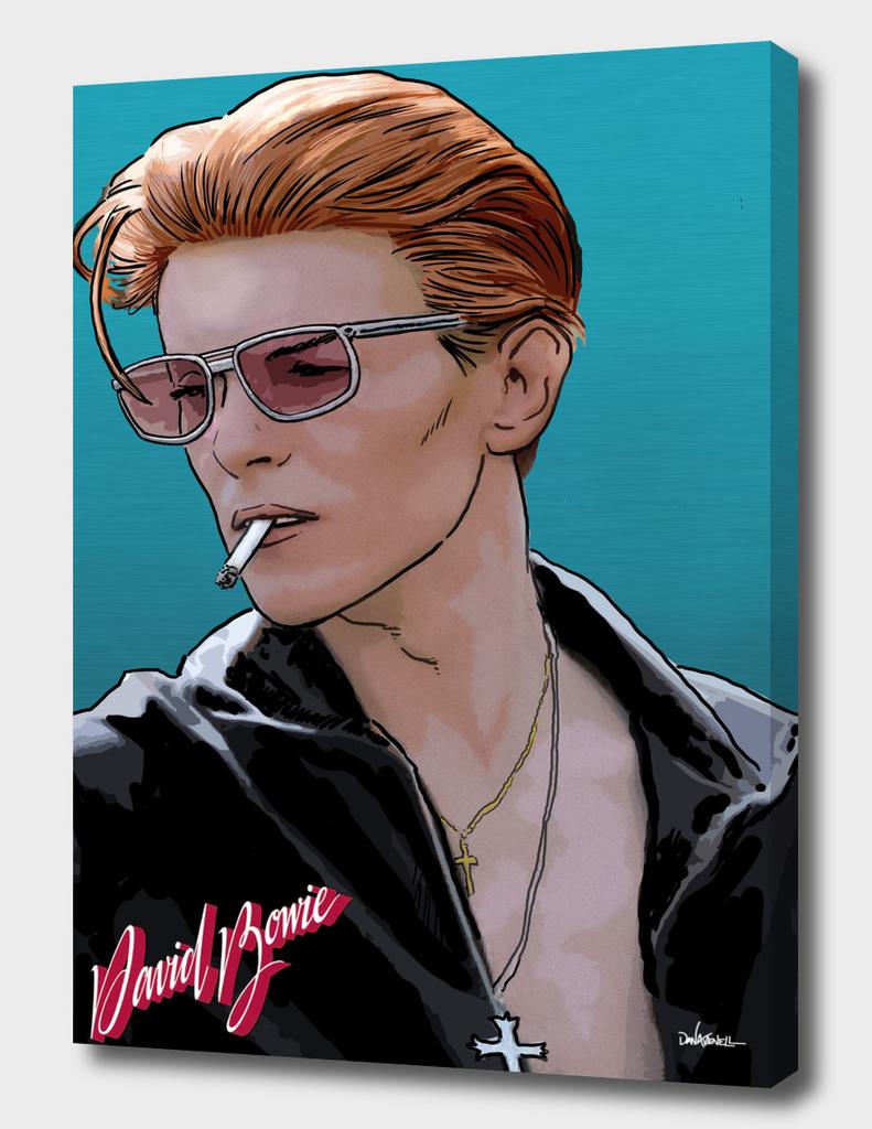 Bowie w Logo