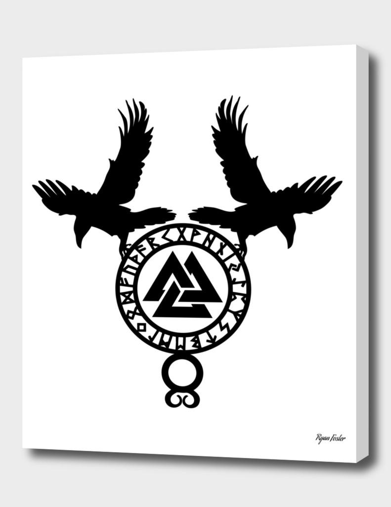 Raven - Valknut