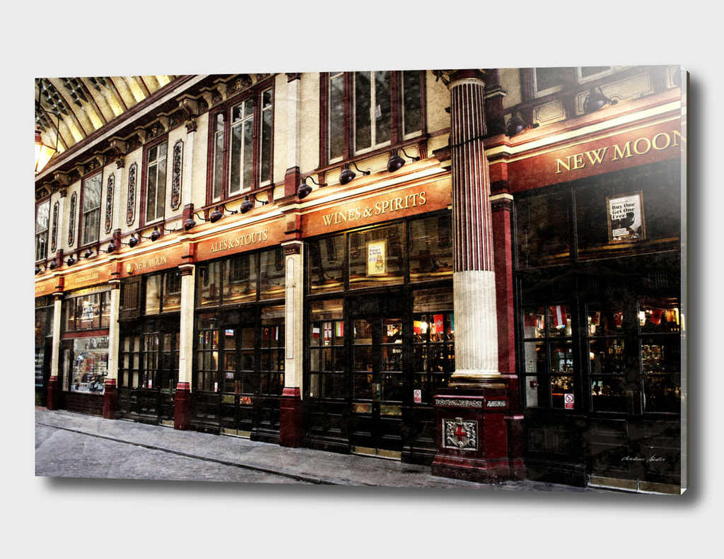 Leadenhall Market Shops