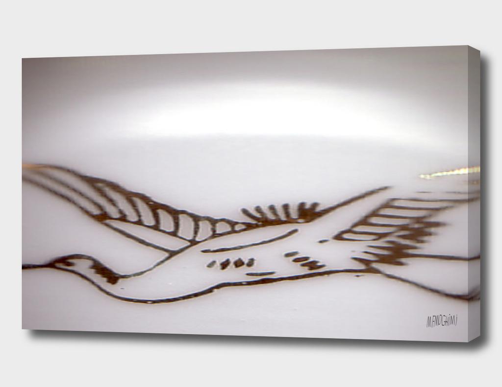 Bird on sky ( 2 )