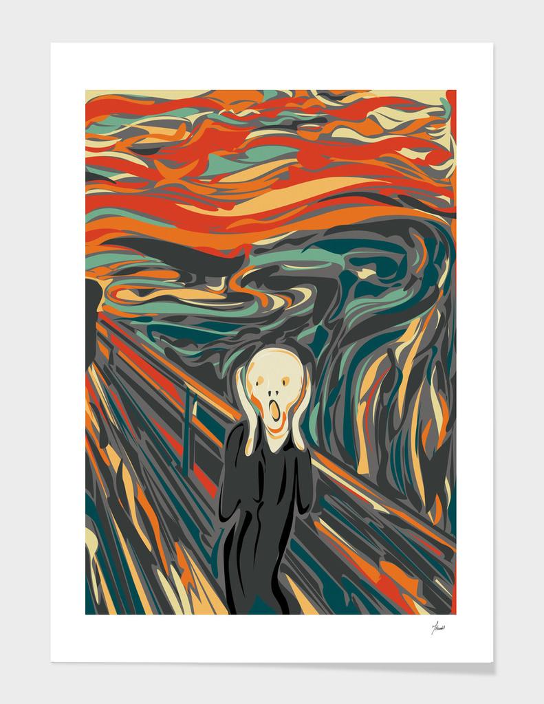 The digital Scream