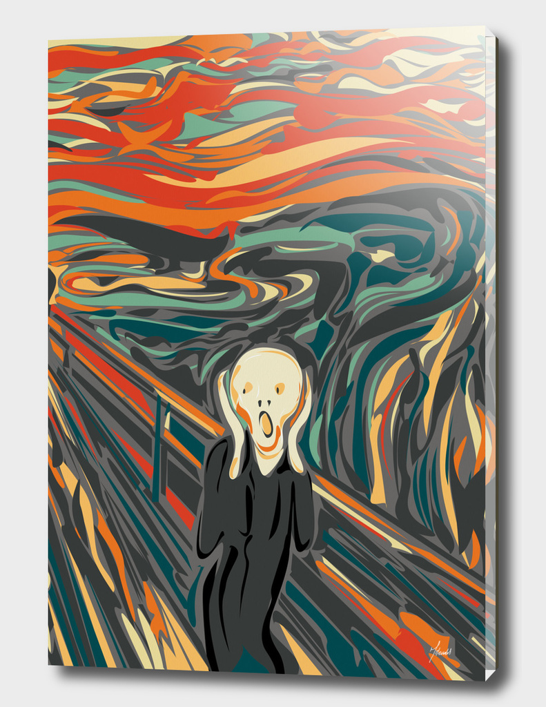 The digital Scream