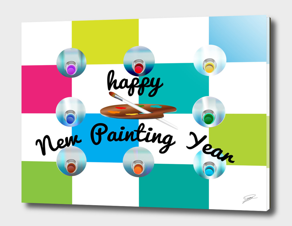 Happy New Painting Year