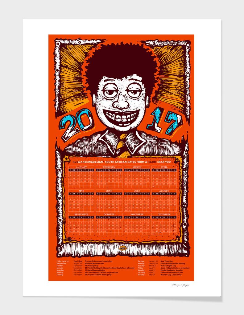 HuemanBeingDesign 2017 Calendar-01