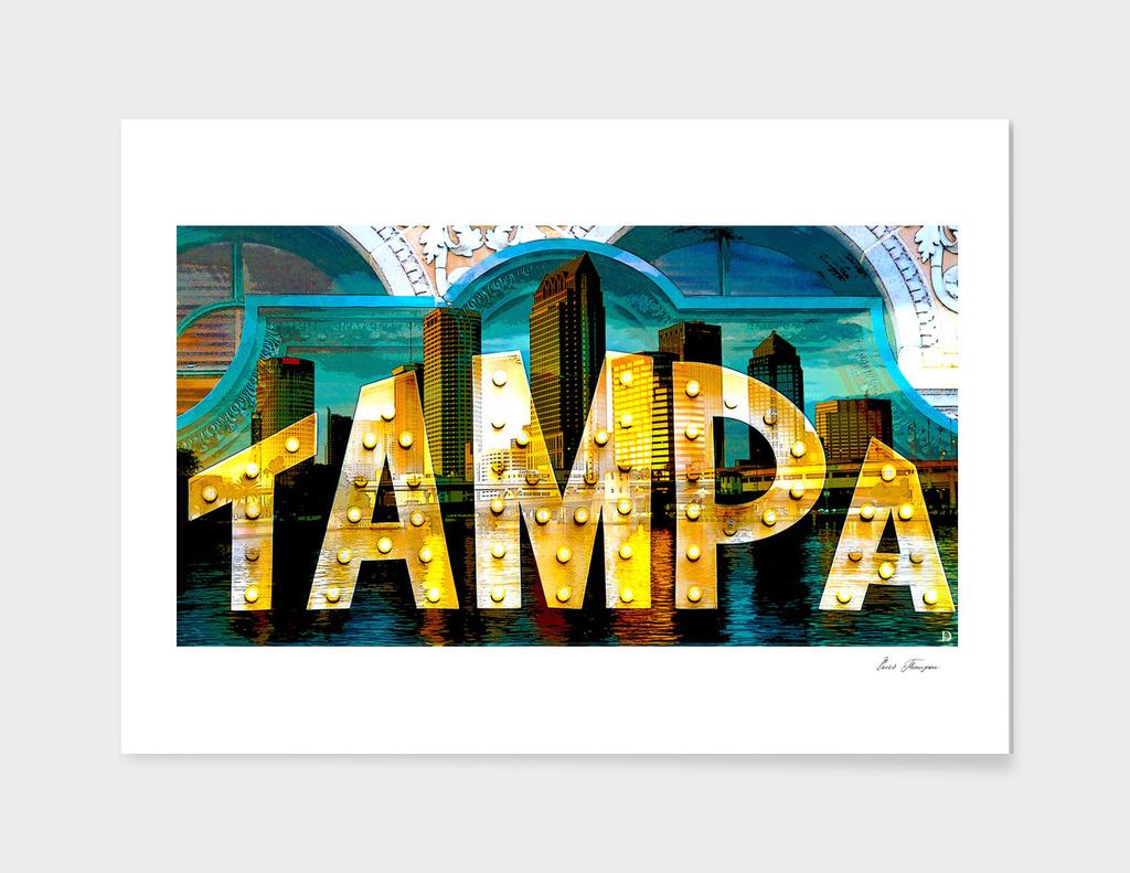Tampa city of lights
