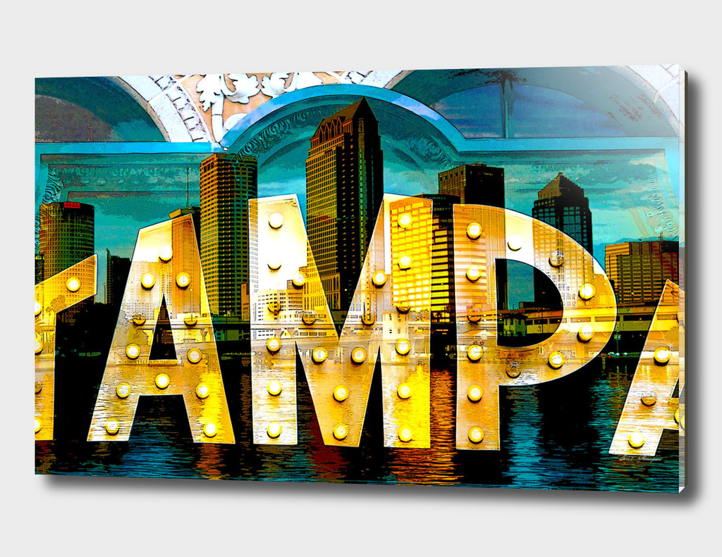 Tampa city of lights