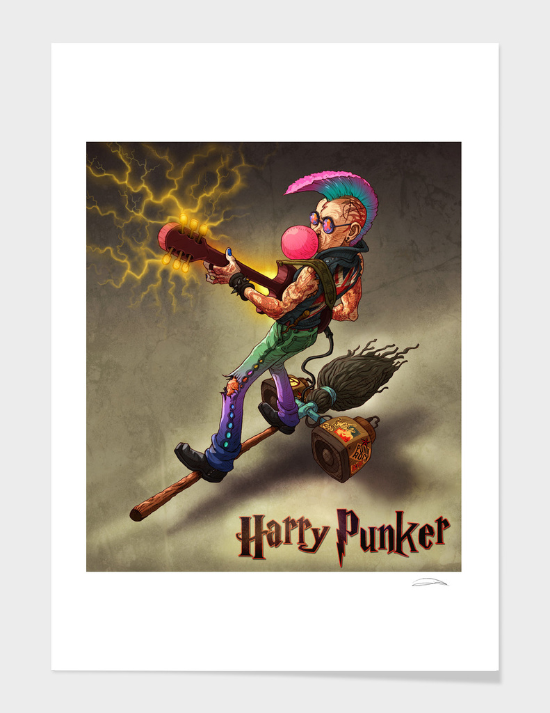 HARRY PUNKER