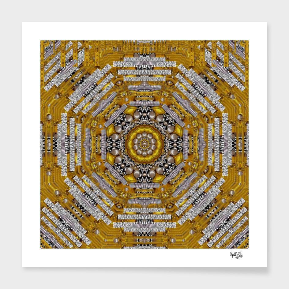 Golden Castle Mandala