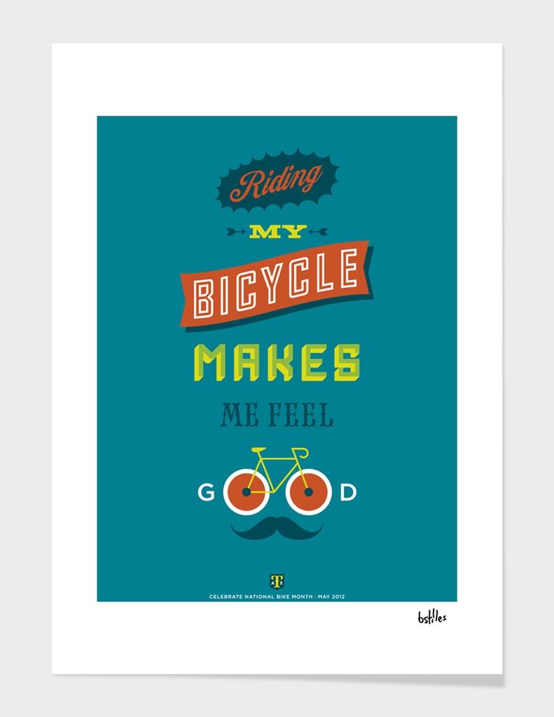 Bike month poster