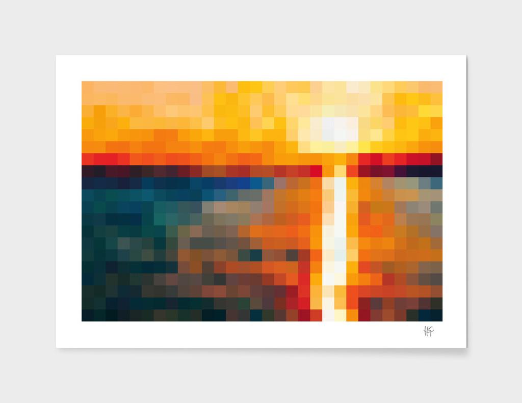 Sunset 30x15