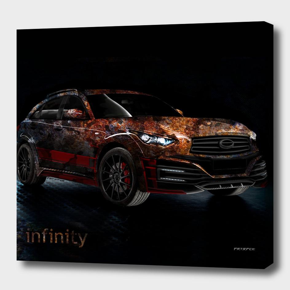 "Infiniti QX70 ""Infinity space"""