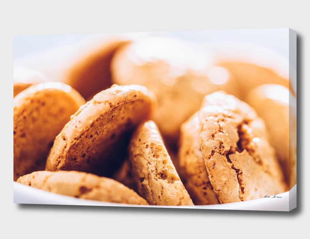Delicious Italian Amaretti Biscuits