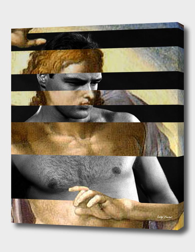 Michelangelo's Christ and Marlon Brando