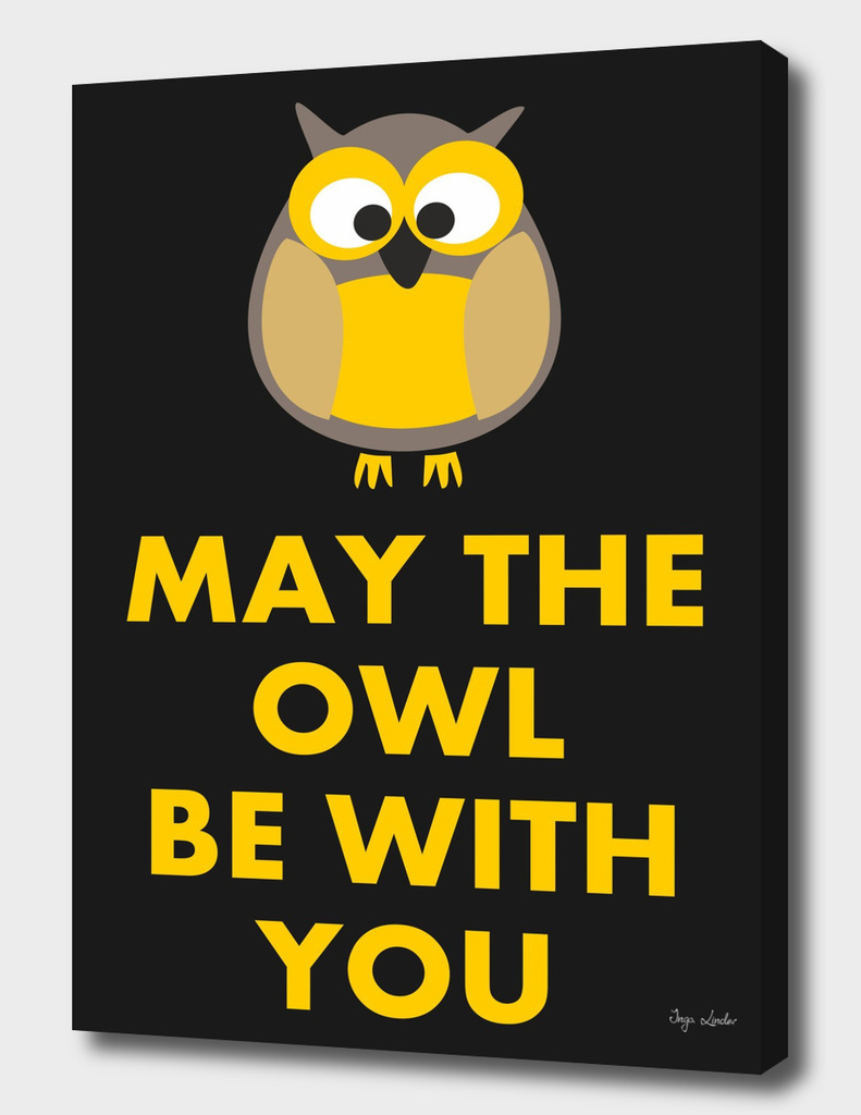 May the owl be with you