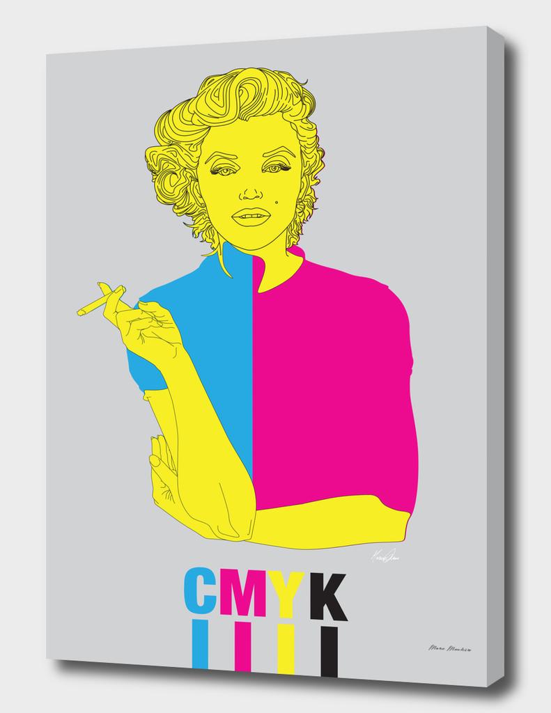 CMYK Girl