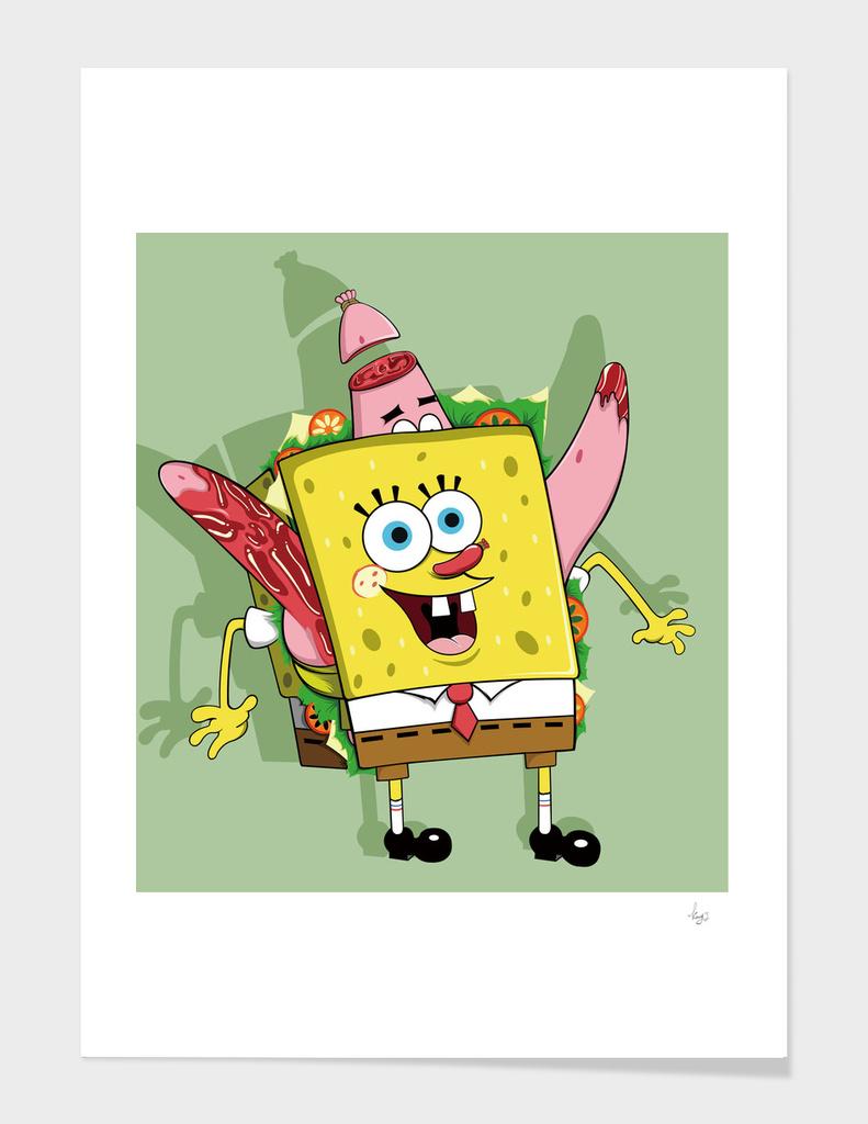 SpongeBob Sandwich