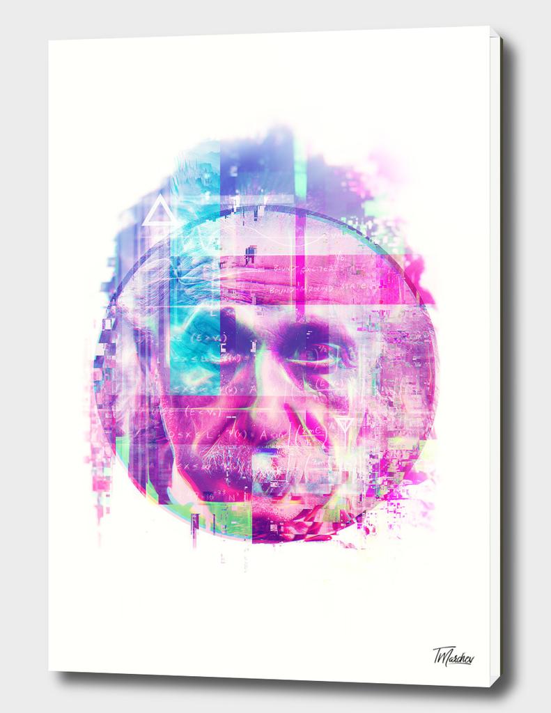 Artistic LXX - Albert Einstein IV / NE