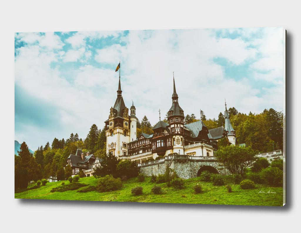 Neo-Renaissance Peles Castle In Romania