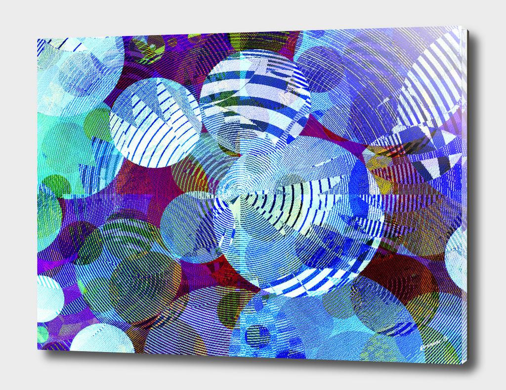 Violet Paper Lanterns